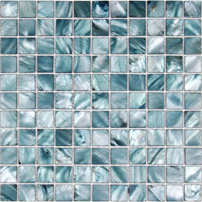 Shell Tiles 100 Grey Seashell Mosaic Mother Of Pearl