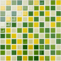Wholesale Glass Mosaic for Swimming Pool Tile Sheet Green ...