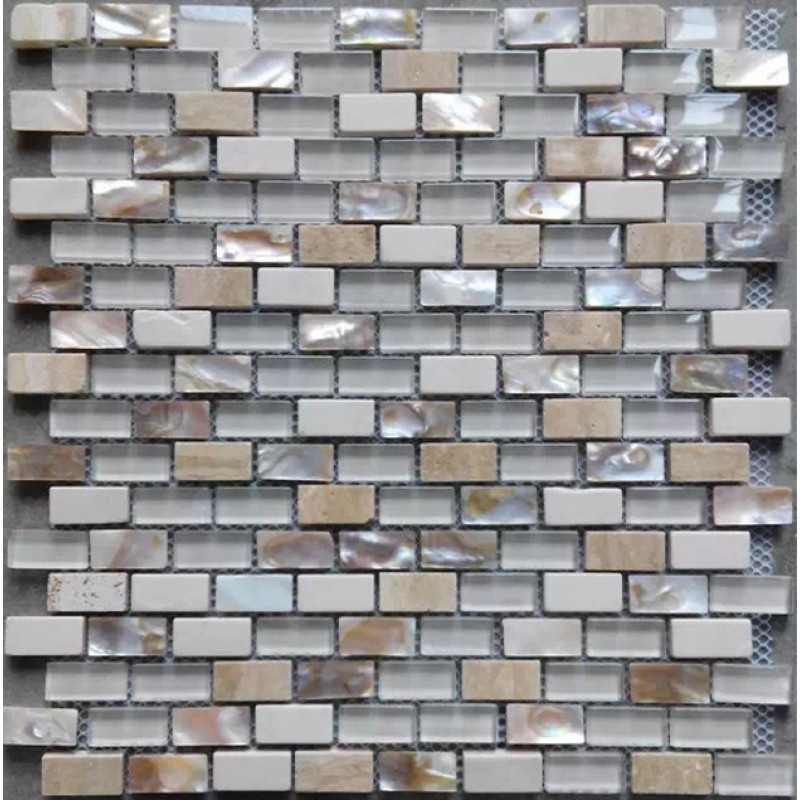 Glass Mother Of Pearl Tile