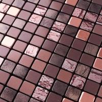 Wholesale Metallic Mosaic Tile Sheets Aluminum Interior ...