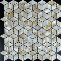Wholesale Mother of Pearl Tile Backsplash Mesh White Shell ...