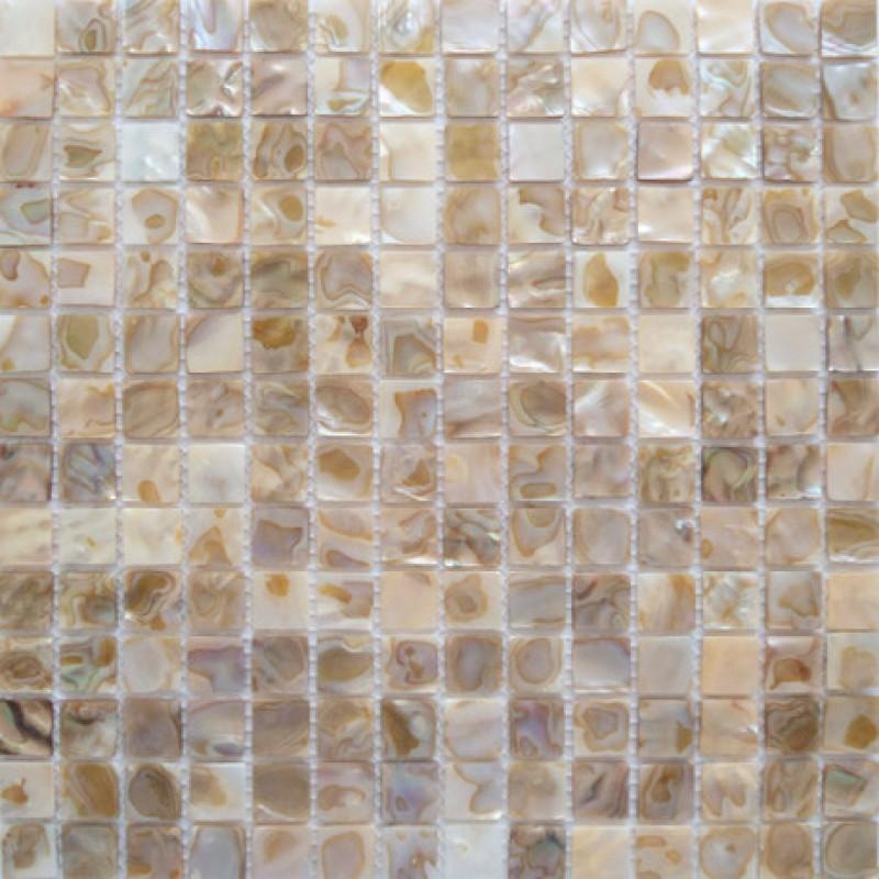 Mother of Pearl Tile Kitchen Wall Backsplash White Square