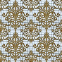 Crystal Glass Tile Gold Mosaic Collages Design Interior