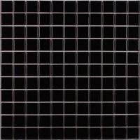 Wholesale Porcelain Tile Mosaic Black Square Surface Art ...