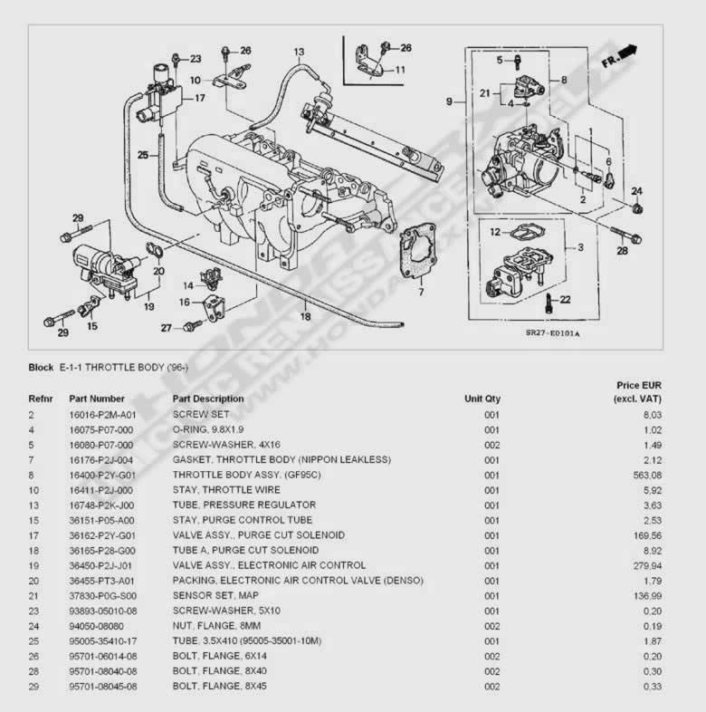 throttle body schema cablage