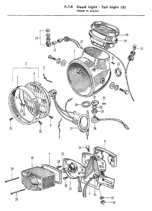 honda dream parts manual