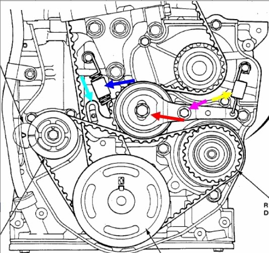 91 accord engine diagram