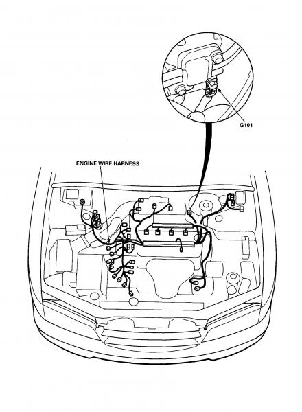 98 ACCORD 4 CYL ENGINE DIAGRAM - Auto Electrical Wiring Diagram
