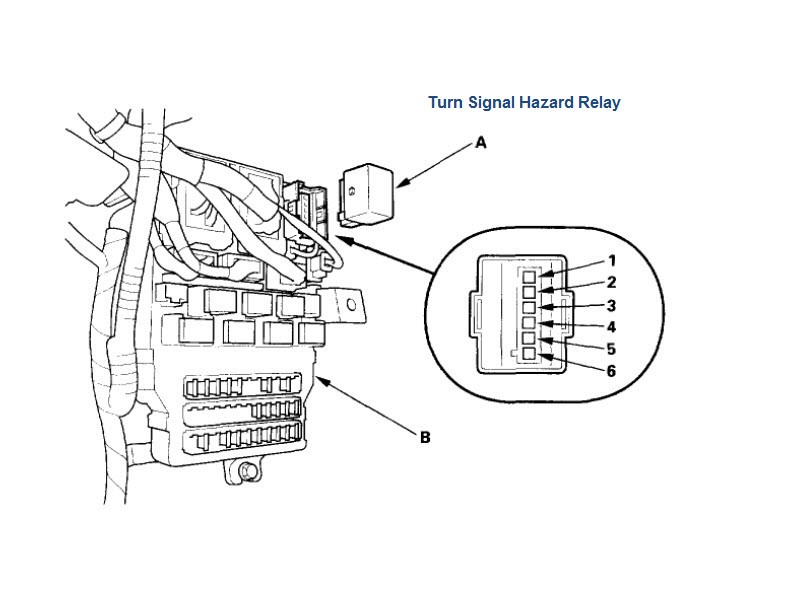 2004 honda civic turn signal wiring diagram