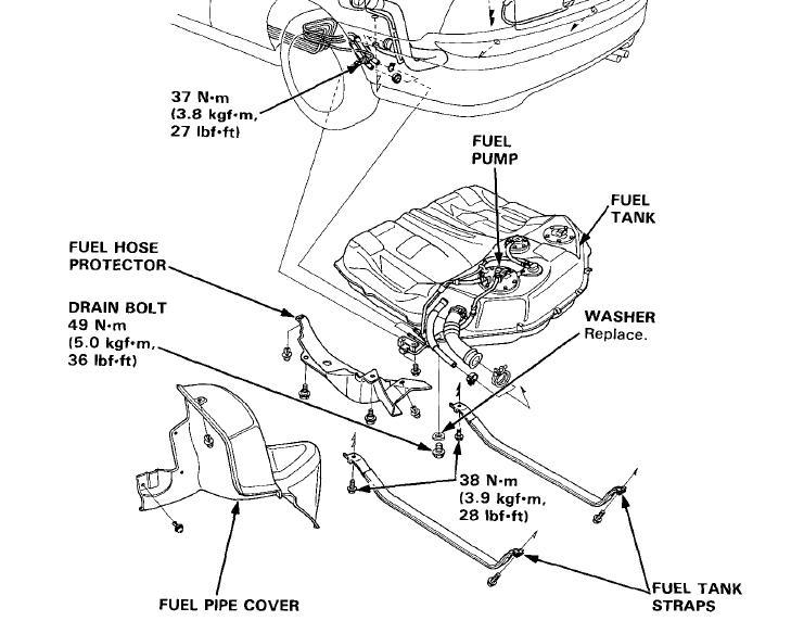 Honda Fuel Line Diagram Wiring Diagram 2019