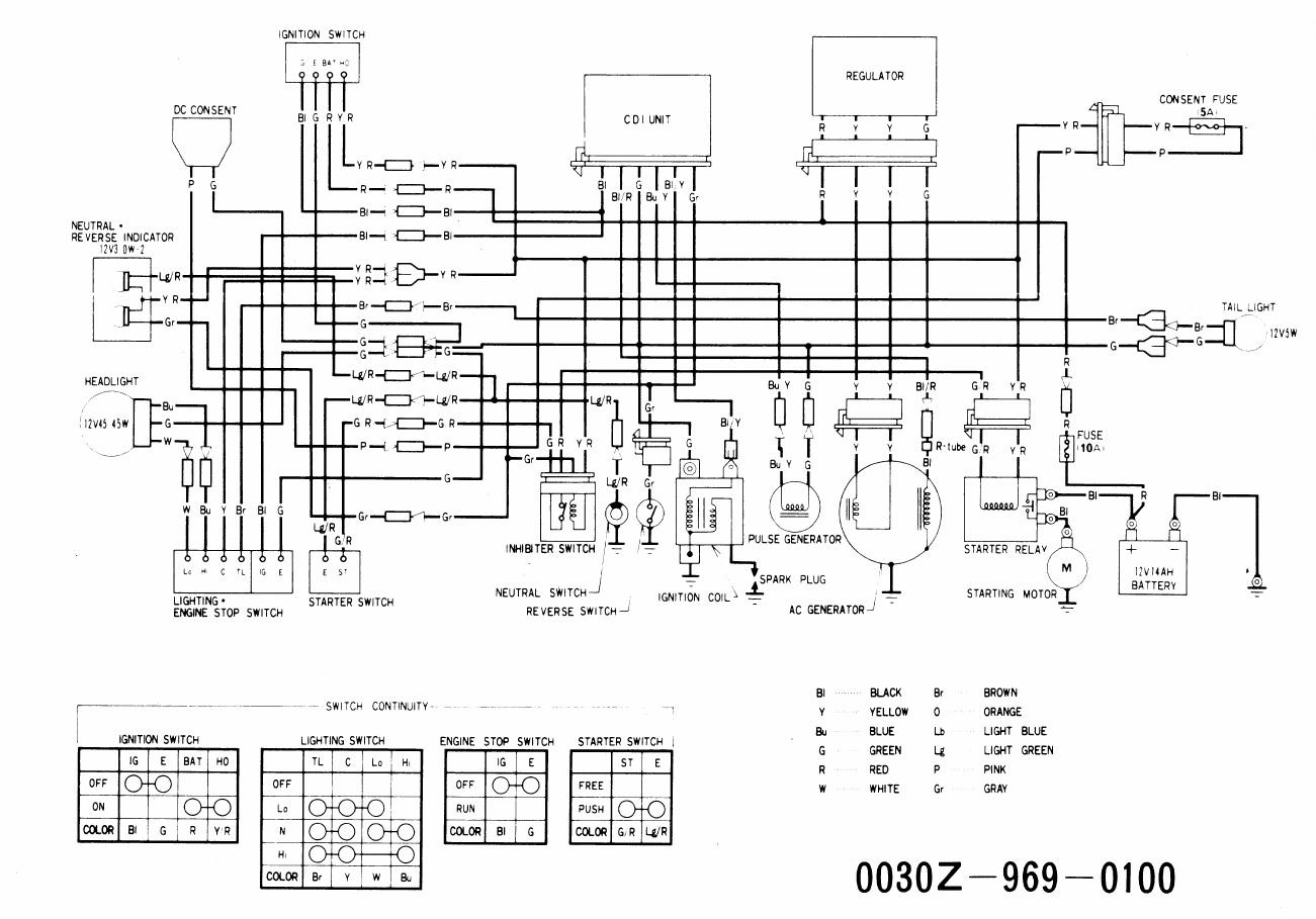 honda 420 atv wiring diagram