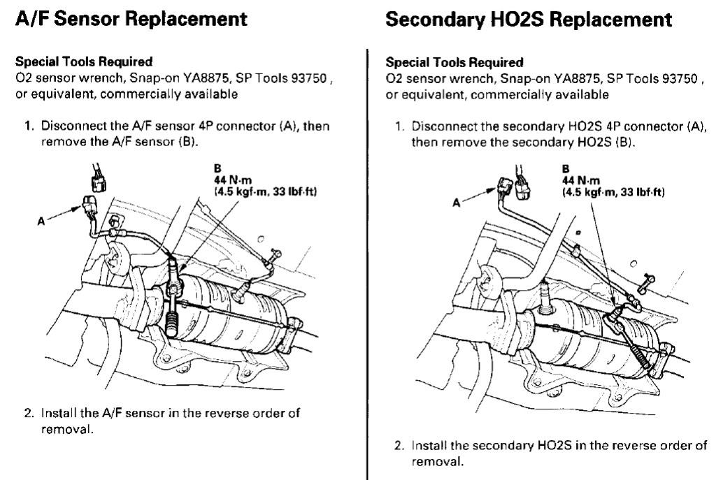 O2 Sensor Replacement - HondaCivicForum