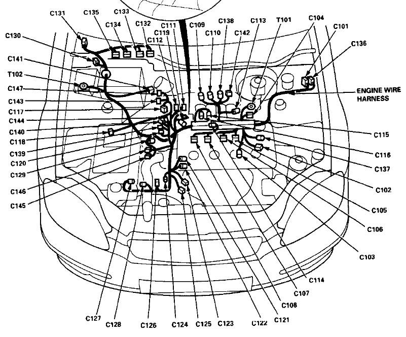 02 Civic O2 Sensor Wiring Diagram - Wiring Data Diagram