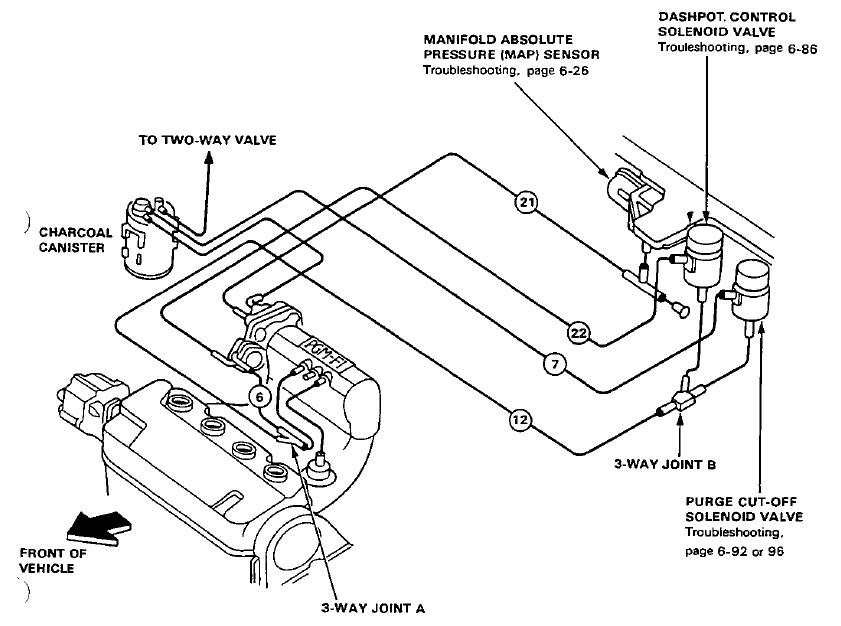 Honda Vacuum Diagram Wiring Diagram