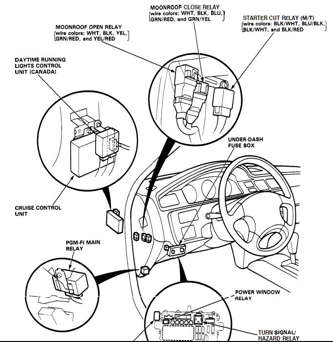 1998 honda civic wiring