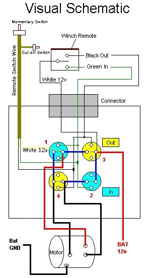 winch switch wiring diagram
