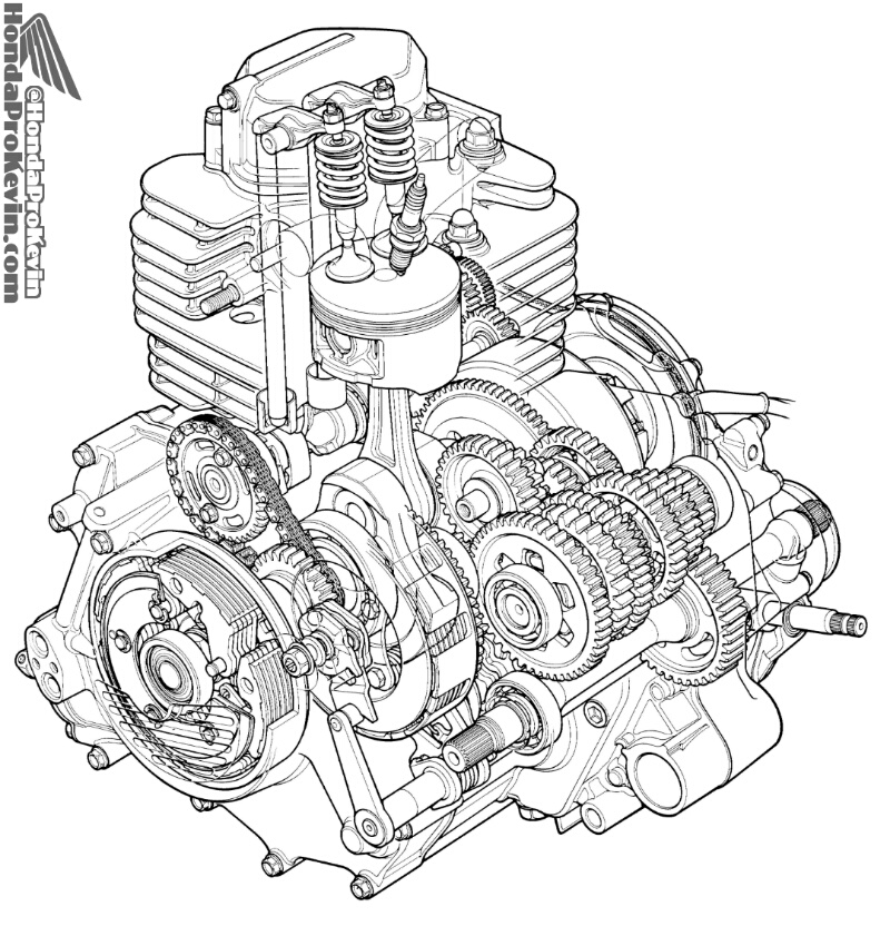 86 honda 350 fourtrax wiring diagram