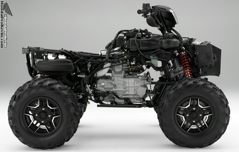 2016 Honda Foreman vs Rubicon ATV - Differences / Comparison Review