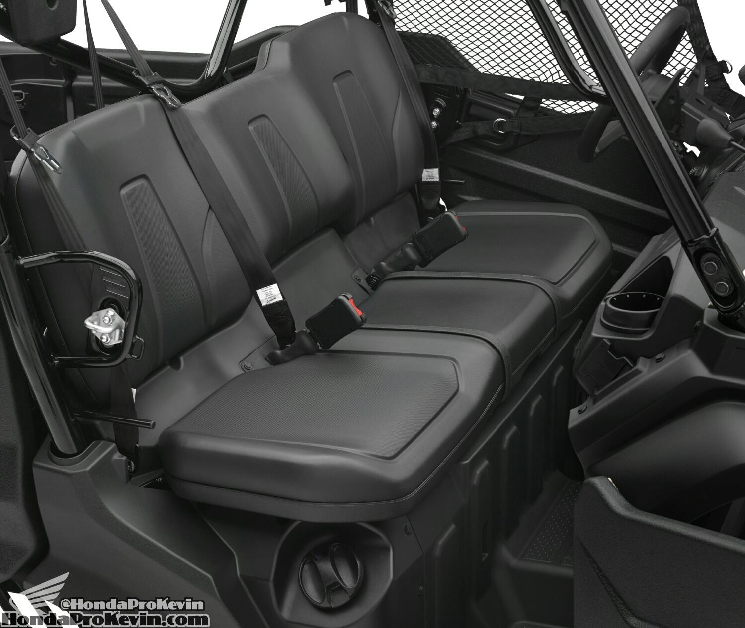 Honda Pioneer 700 >> 2016 Honda Pioneer 1000-5 SxS Engine / Frame / Suspension / Interior Pictures | Honda-Pro Kevin