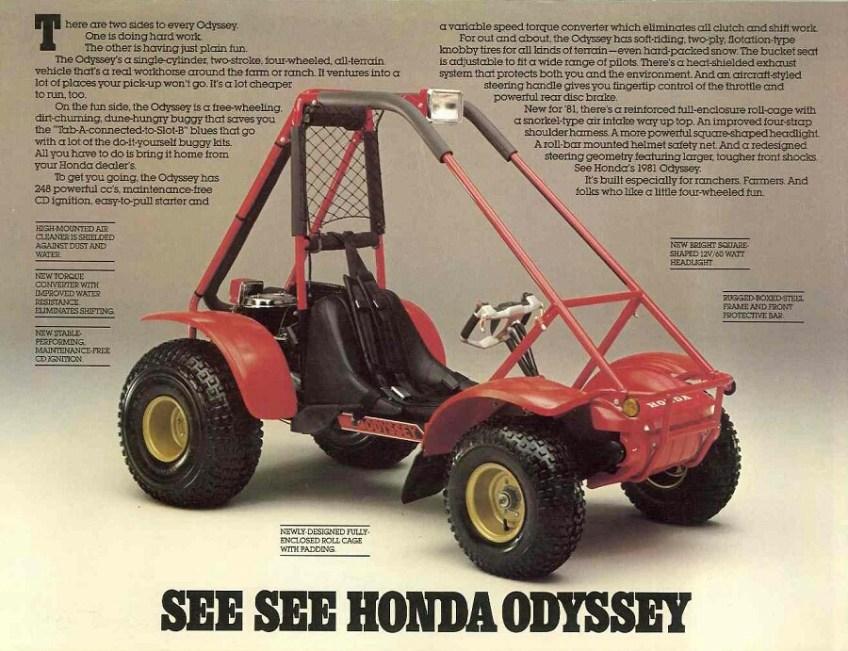 Honda Odyssey Fl250 For Sale ... of the Honda Sport SxS / UTV / Side by Side ATV? | Honda-Pro Kevin