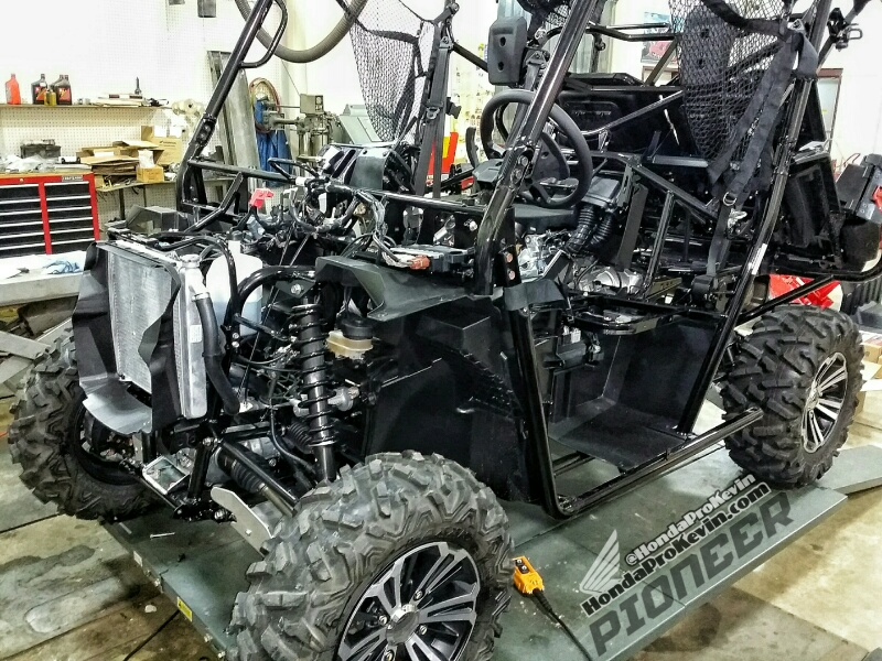 30 000 honda pioneer 1000 build sneak peek side by side