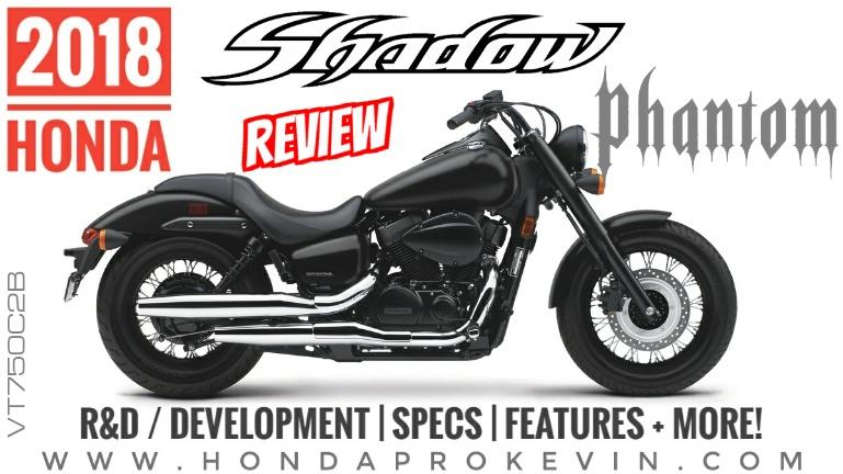 2018 Honda Shadow Phantom 750 Review of Specs / Features Cruiser