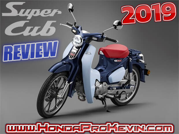 All-NEW 2019 Honda Super Cub 125 Review of Specs / Features