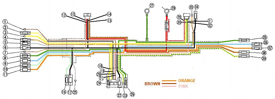 Wiring Harness Identification Wiring Diagram