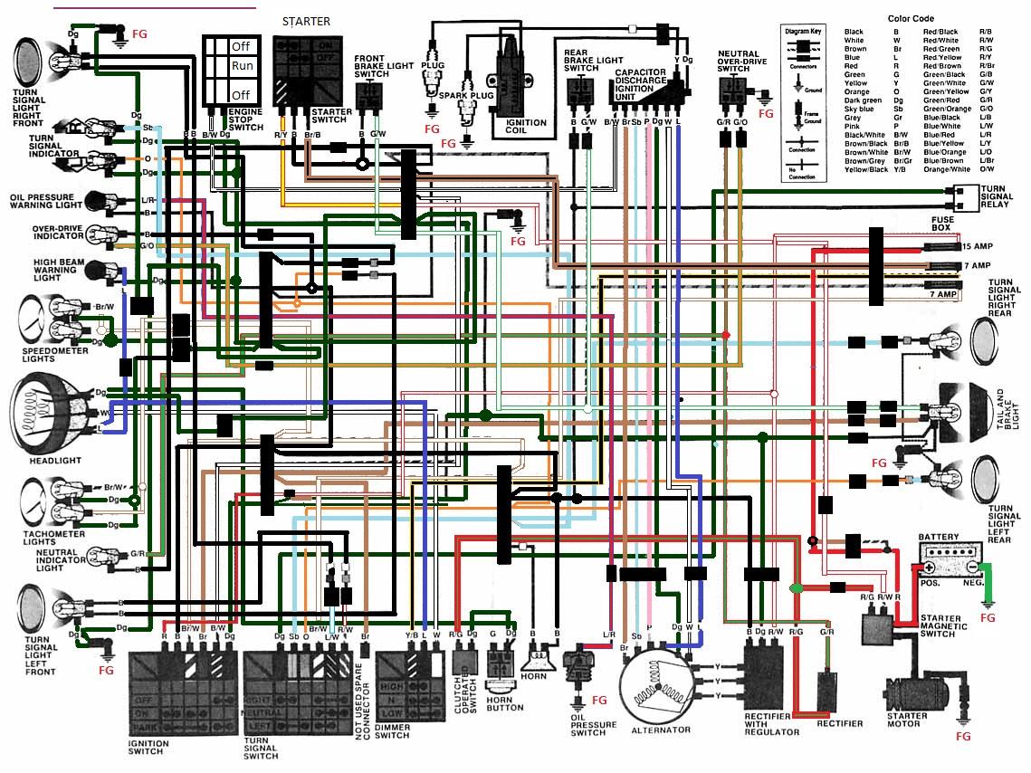 cb650c wiring diagram