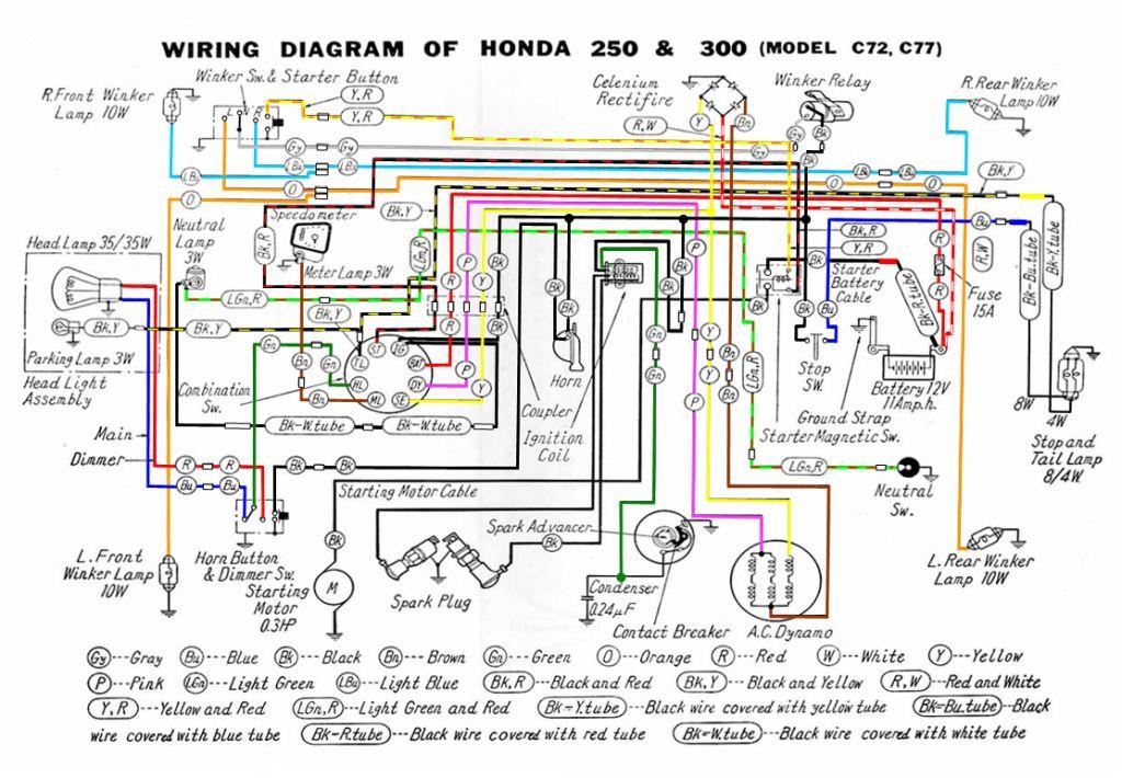 honda 305 wiring diagram