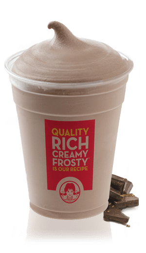 Large chocolate Frosty