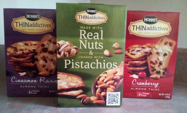 Nonni's THINaddictives three flavor options