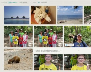 Add notes to your photos with MiMedia photo storage