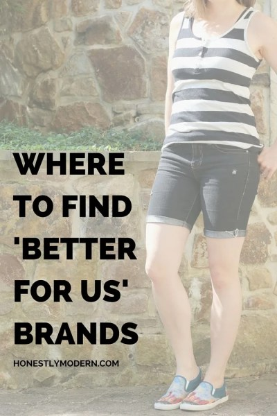 "Where to Find ""Better For Us"" Brands"