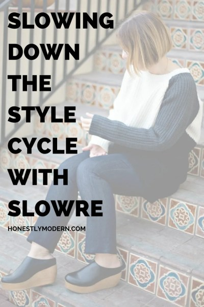 Slowing Down the Style Cycle with Slowre