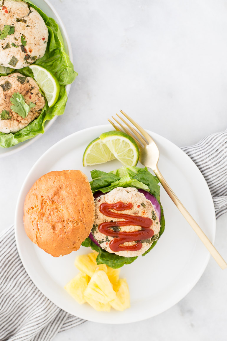 barbecue or grill out with this Thai-spiced pineapple turkey burger ...