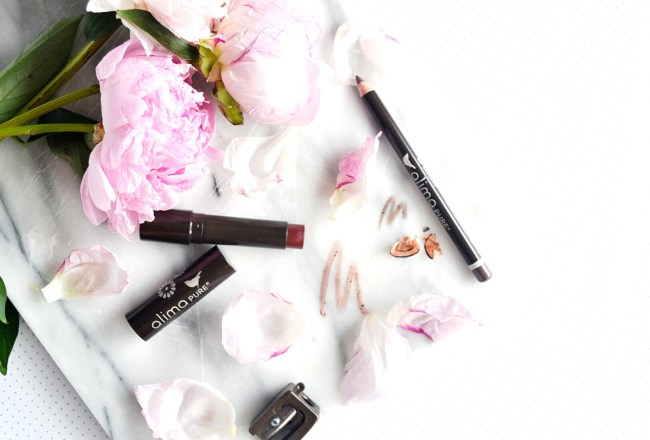 Alima Pure lip tint and eye liner