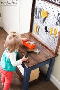 PDF DIY Make Kids Work Bench Download minwax woodworking ...