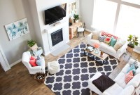 Colorful Living Room - Honeybear Lane