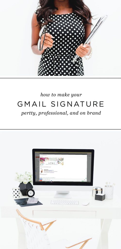 How to Make Your Gmail Signature Pretty - Rising Tide