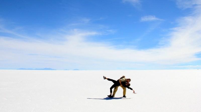 Uyuni Salt Flats Dip