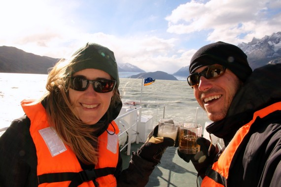 Pisco Sours and Whisky on Glaciers