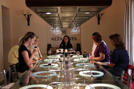 tasting room, Mendoza Argentina