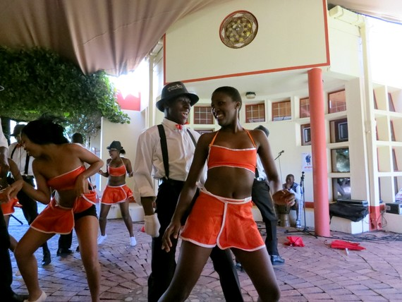 The National Arts Festival in Grahamstown, South Africa