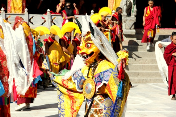 Gedong Mask Festival - Benzilan China