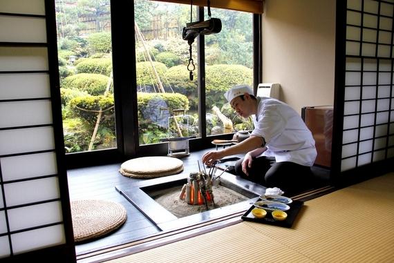 Wataya Ryokan lunch