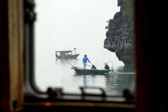 Floating Villages of Halong Bay, Vietnam
