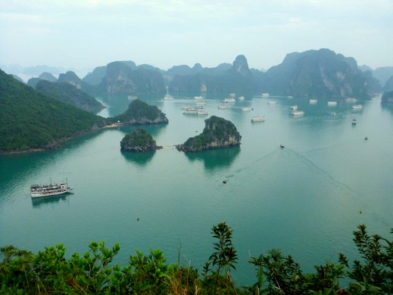 Hike in Halong Bay, Vietnam