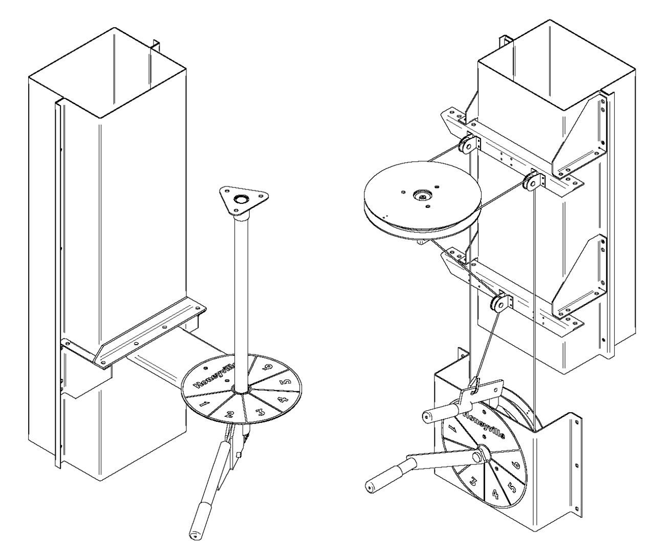 grain elevator schematic