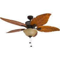 Honeywell Sabal Palm Ceiling Fan, Bronze Finish, 52 Inch